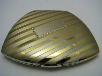 ELGIN STERLING SILVER COMPACT BOX STERLING SILVER BOX by ELGIN-AMERICAN USA 1950