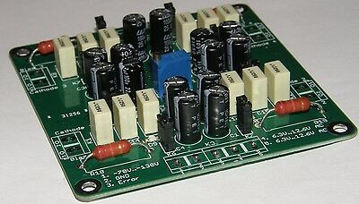 Active Bias Supply for quatro Tubes (Single pcb to Control 4 Power Tubes)