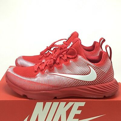 d7c26fa4c Nike Vapor Speed Turf Lax Football Trainer Shoes Red White SZ 8 ( 833408-611