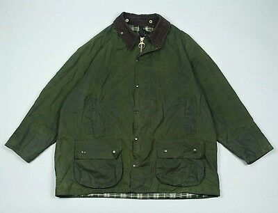 Barbour Men's Beaufort A150 Waxed Jacket C48/122CM Fishing Hunting Green