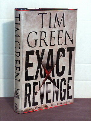 1st, signed by author, Exact Revenge by Tim Green (2005)prison escape & revenge