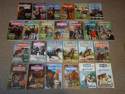 Lot 25 Thoroughbred Horse Books Joanna Campbell Ashleigh Collection Specials