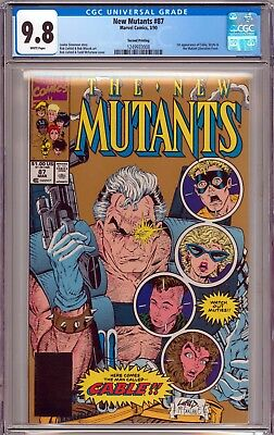 The New Mutants #87 CGC 9.8 NM/MT 1st Appearance of Cable 2nd Print New Case