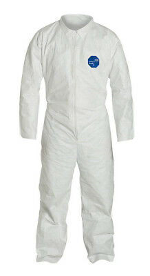 DuPont TY120S Disposable Tyvek White Coverall With Open wrists & ankles 1 Suit