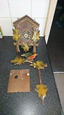 West Germany Cuckoo Clock Spares Repair Only
