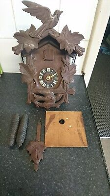 Vintage German Cuckoo Clock Spares Repair Only