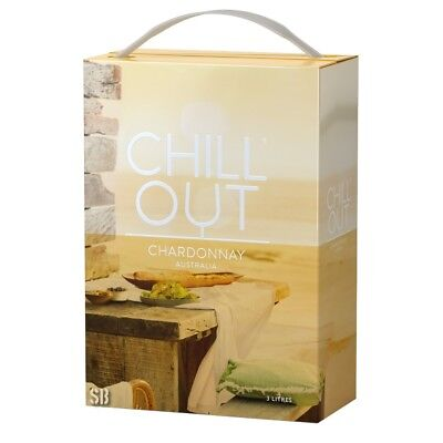 Chill Out Fresh & Fruity Chardonnay Weißwein 13% vol  Bag in Box BiB 300cl