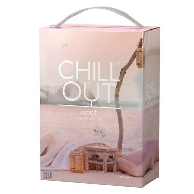 Chill Out Bright & Breeze Rose Rosewein 12,5% vol  Bag in Box BiB 300cl