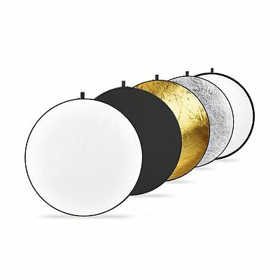 "Upland Photography Collapsible Multi-Disc Light Reflectors, 43""(110cm)"