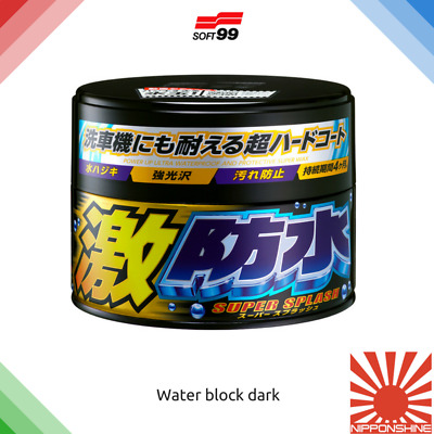Soft99 Water block Dark Wax fast delivery NO IMPORT DUTY in EU