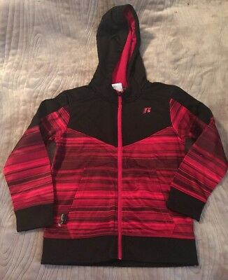 Boys Russell Light Jacket Zip Up Hoodie Size S 6-7 New