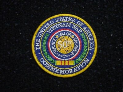 Vietnam War 50 Years Commemoration Patch