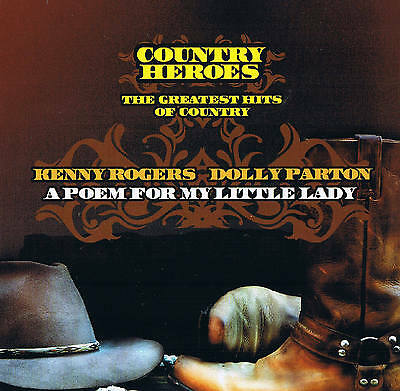 """Kenny Rogers & DOLLY PARTON """" The Greatest Hits Of Country """" CD Country Heroes"""