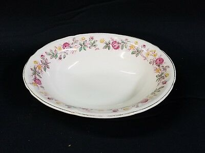 Edwin M Knowles China Co Oval Vegetable Serving Bowl 45-11 Made in USA