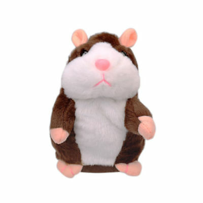 US Talking Hamster Mouse Pet Plush Toy Cute Speak Sound Record for Children Baby