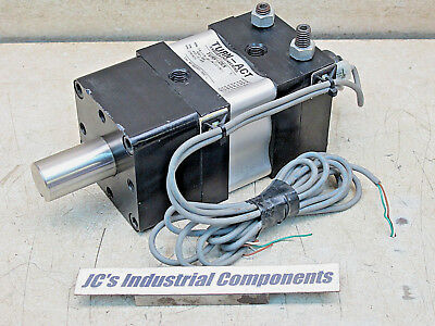 """Turn-Dex,  412-2-A08,  Rotary Vane Indexing Actuator,  2 1/2"""" Bore"""