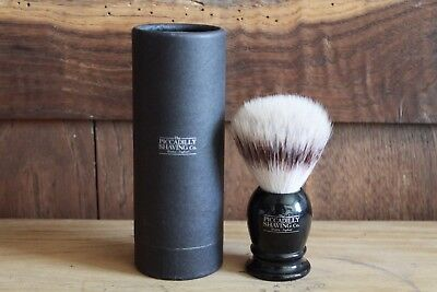 Blaireau de Rasage Piccadilly NEUF Silvertip Fibre Shaving Brush New and UNUSED