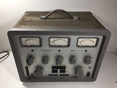 Philips Transistor Analyser Pm6505A