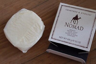 Savon à Raser NOS Crabtree & Evelyn NOMAD Discontinued Shaving soap Rasage