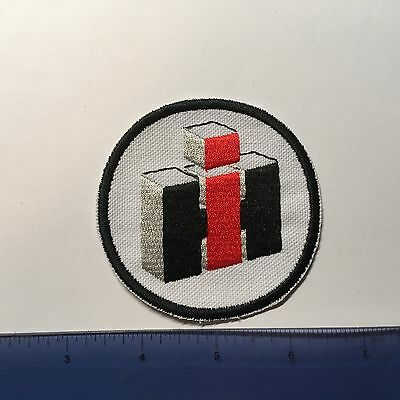 International Harvester  Embroidered Emblem Iron-On Sew-On Patch