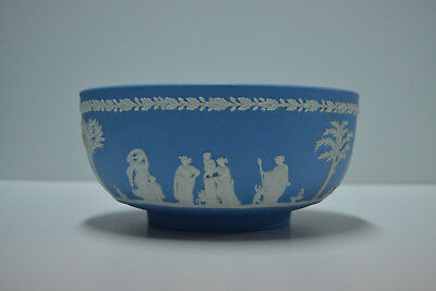 Bowl Jaspeware Wedgwood - Made in England - Blue- Porcelana Azul