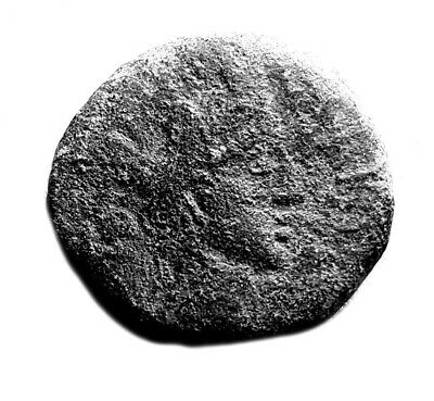 250Bc Parthian Culture Ancient Coin From Mesopothamia - Ship On Reverse #413