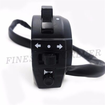 Universal Headlight Turn Signal Horn Switch Motorcycle Cafe Racer Dual Sport Atv