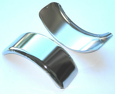 1) New Mini Bike Go Kart Chrome Plated Wide Fender. USA SELLER!!