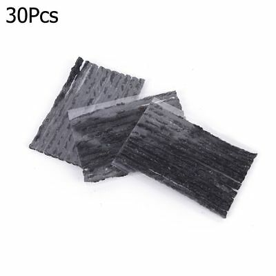 30 x Car Bike Tire Tubeless Seal Rubber Strips For Tire Puncture Repair