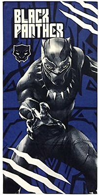 Black Panther Limited Edition Beach Towel Marvel Gift Merchandise For Kids (NEW)