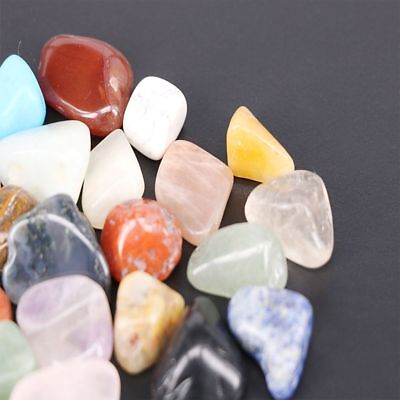 20pcs Display Natural Crystal Gemstone Polished Clear Stone Specimen Collection