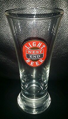 Rare Collectable 285Ml West End Light Beer Glass In Great Used Condition