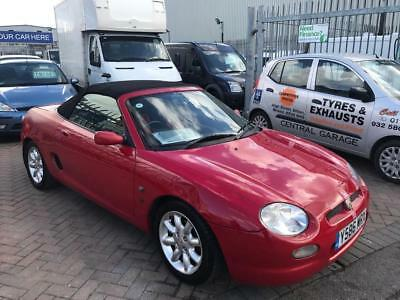 2001 Y Mgf Convertible Softop Red Mg Owners Club Car Lots Of History Very Tid...