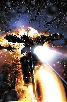 Ghost Rider #1 Clayton Crain Variant LTD to 1000 NM or better Marvel 2018