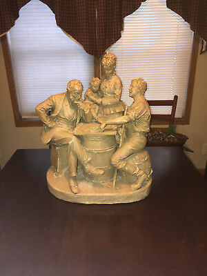"John Rogers Group of Statuary "" Checkers Up At The Farm """