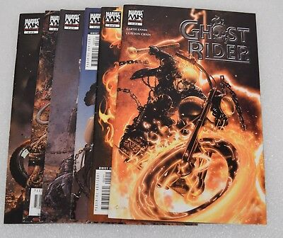 Ghost Rider 3rd Series Comic Books Lot Set 1 2 3 4 5 6 VF NM Clayton Crain