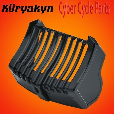 Kuryakyn Gloss Black Precision Oil Cooler Cover For 2017-2017 HD Touring 6418