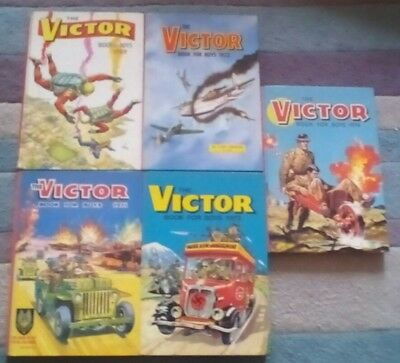 The victor book for boys set of 5(1969-71-72-73-74)