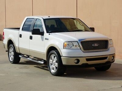 2007 Ford F-150 Lariat Crew Cab Pickup 4-Door 2007 FORD F150 LARIAT CREW CAB 2WD ACCIDENT FREE TEXAS TRUCK CARFAX CERTIFIED!