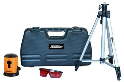 Johnson Level and Tool 40-0921 Self-Leveling Cross Line Laser Kit Rotary Lasers