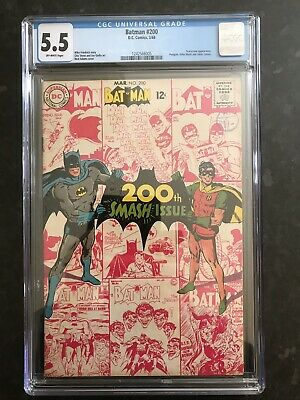 Batman #200 Scarecrow Appearance, Penguin,killer Moth And Joker Cameo