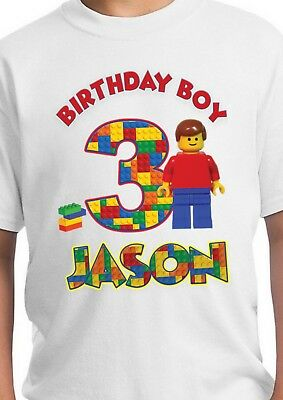 7381d9d3 LEGO SHIRT / Lego Birthday / Lego Party Supplies / Lego Party ...