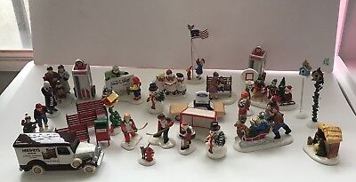 Dept 56 Snow Village Collection Huge Lot Items