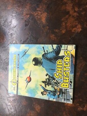 1. very old Commando war Comic 1803 The Ship Busters