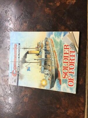 1. very old Commando war Comic 1762 Soldier Of Fortune