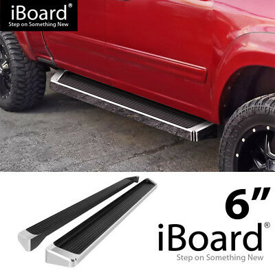 iBoard Running Boards Style Fit 04-06 Toyota Tundra Double Cab