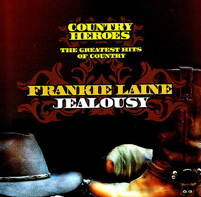 "FRANKIE LAINE ""Jealousy"" Top Country Álbum CD Nuevo & EN PAQUETE ORIGINAL 25"