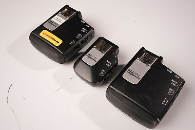 Pocket Wizard Mini TT1 +  2 Pocket Wizards  Flex TT5 for Canon