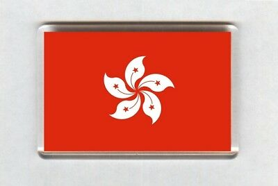 Hong Kong Flag Fridge Magnet