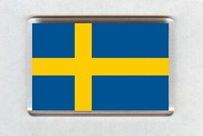 Sweden Flag Fridge Magnet